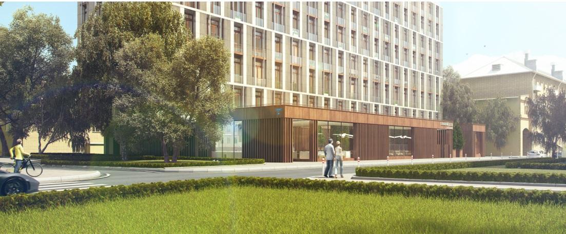 В районе Раменки построят апарт-отель