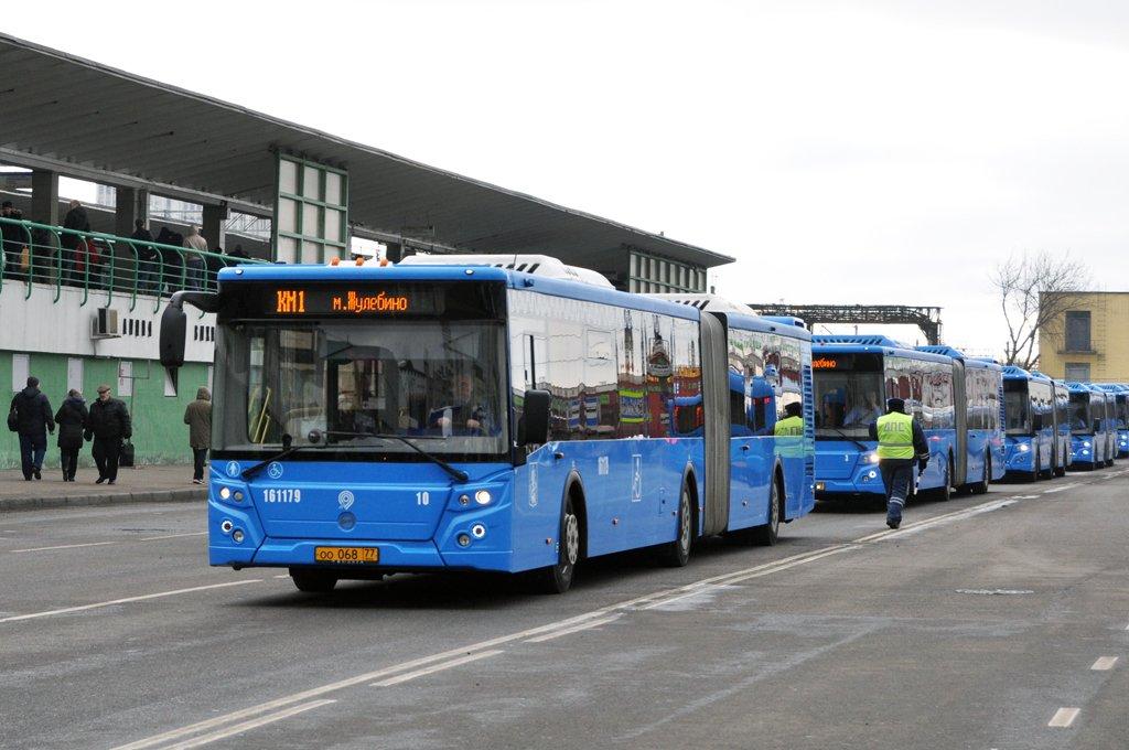 Автобусы ГУП «Мосгортранс» перевезли на юго-востоке Москвы более 20 тыс. человек с утра