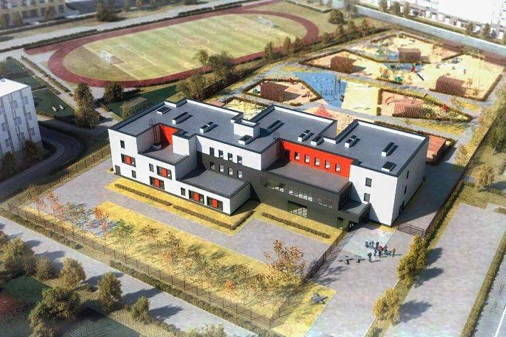 В районе Крюково началось строительство двух детских садов