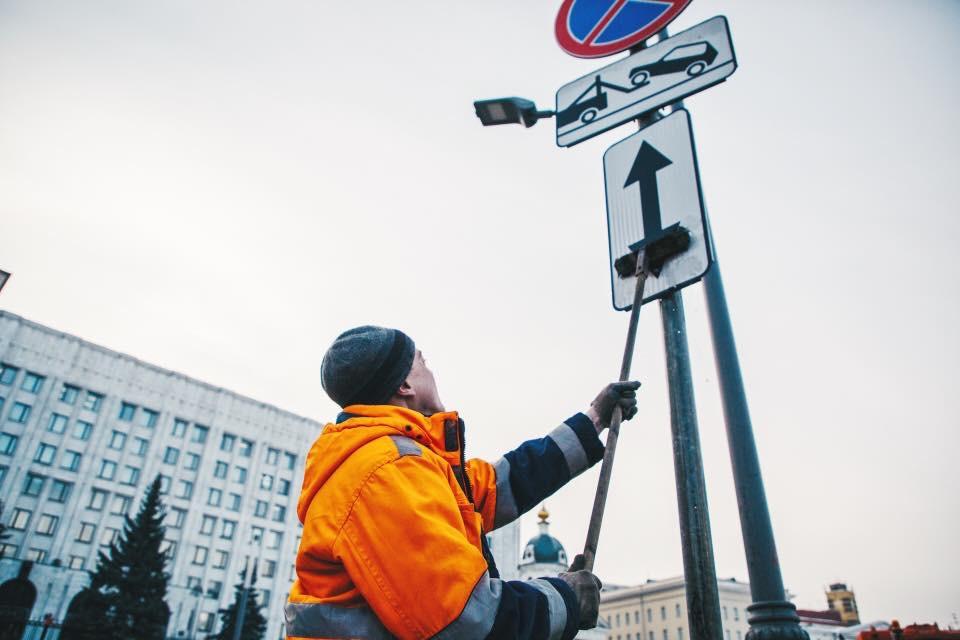 Коммунальные службы приступили к генеральной уборке столичных улиц