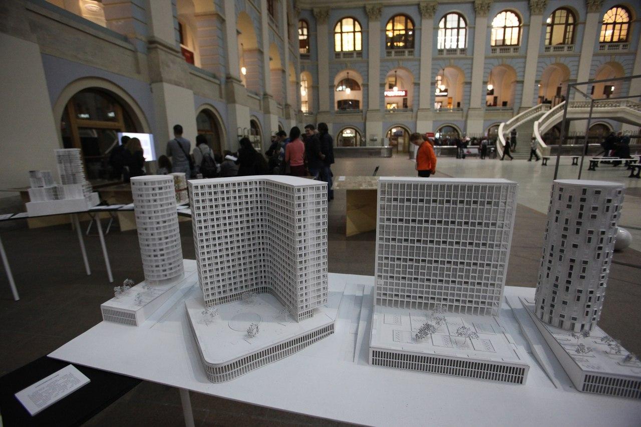 Москвичи могут посетить выставку «Город дорог»