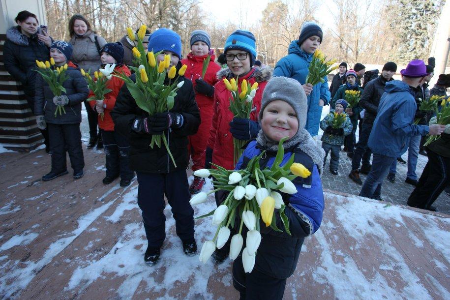 Более 130 тысяч человек посетили столичные парки 8 марта