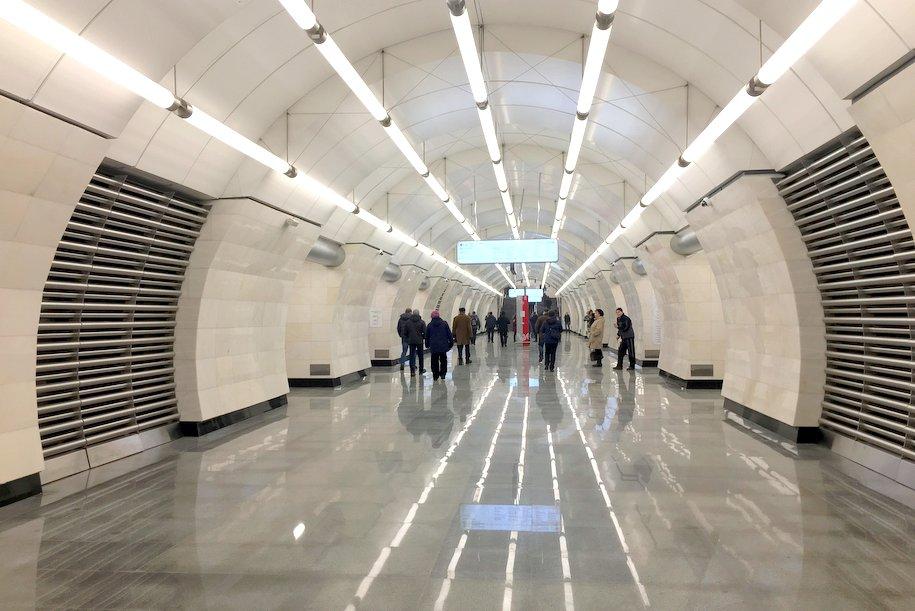 Сергей Собянин открыл станции метро «Селигерская», «Верхние Лихоборы» и «Окружная»