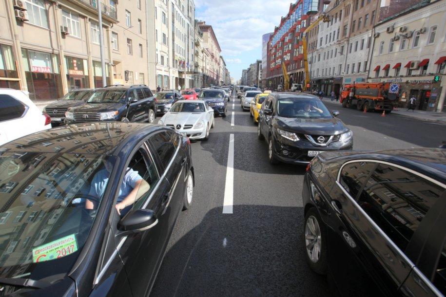 Столичные власти не планируют вводить платный въезд в центр Москвы