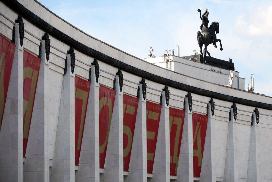 Новобранцы Семеновского полка приняли присягу в Музее Победы