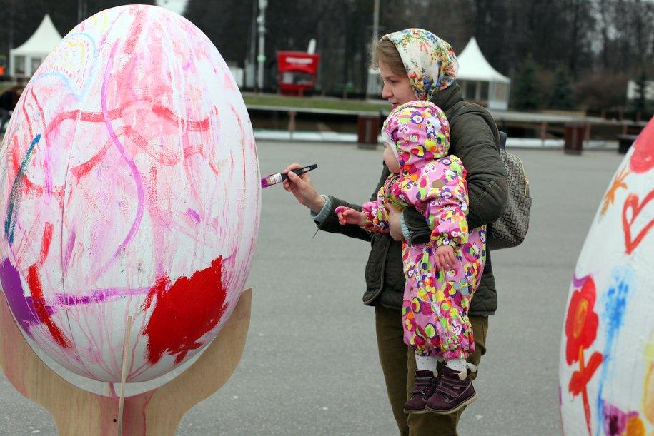 Мастер-классы по росписи яиц пройдут в рамках фестиваля «Пасхальный дар»
