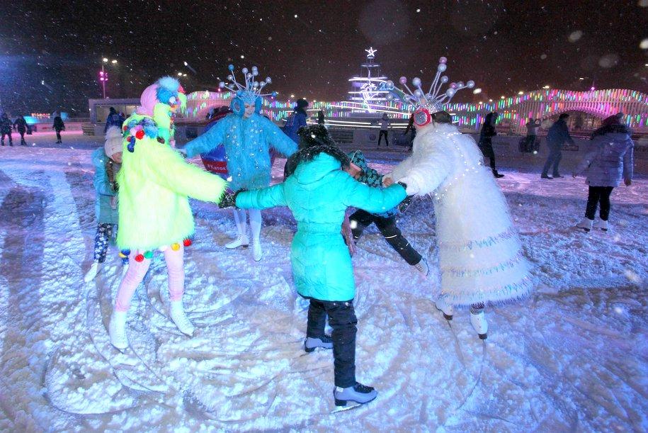 «Ночь на катке» пройдет в Москве 7 марта