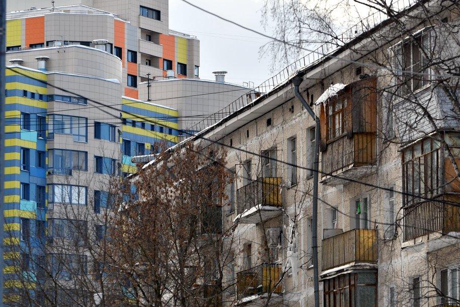 В 2018 году начнут строить до 70 тыс. квартир по программе реновации