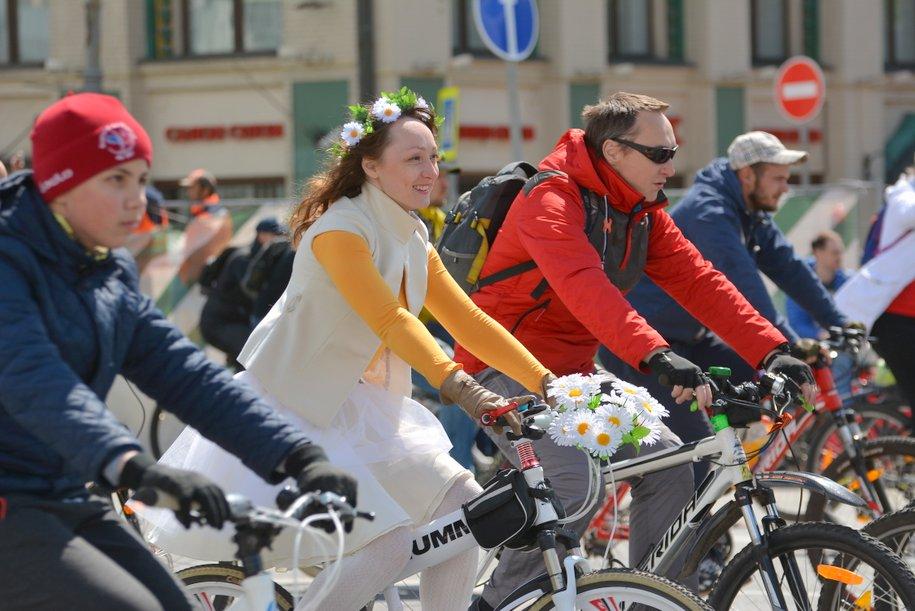 Почти 50 тыс. человек могут принять участие в весеннем московском велопараде 20 мая