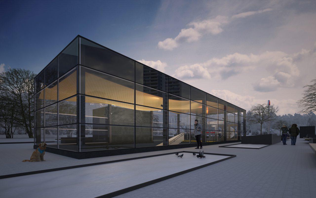 Концепцию станции метро «Нагатинский затон» разработает мастерская Za bor