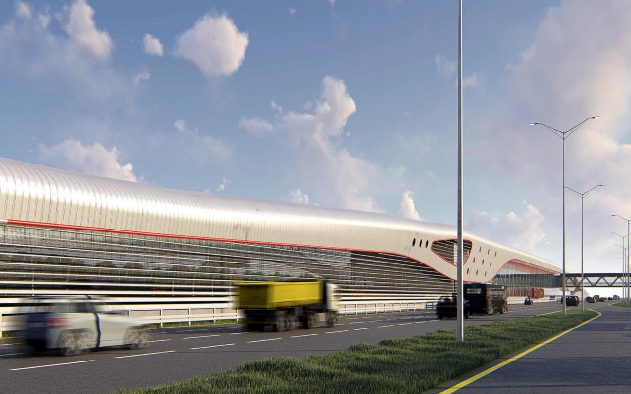Наземный участок Сокольнической линии метро до «Столбово» накроют навесами