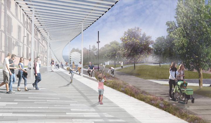 Москомархитектура поддержала проект входа в Парк Горького со стороны Ленинского проспекта