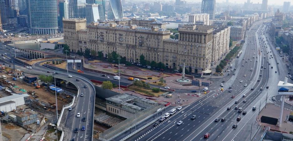 Создание дублера Кузузовского проспекта. Второй этап.