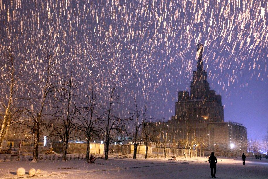 Следующая неделя в Москве начнется с заморозков и снега