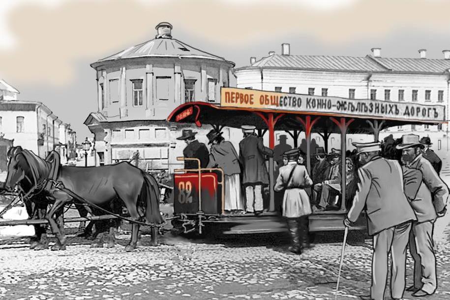 Парад ретро-трамваев пройдёт в Москве 21 апреля