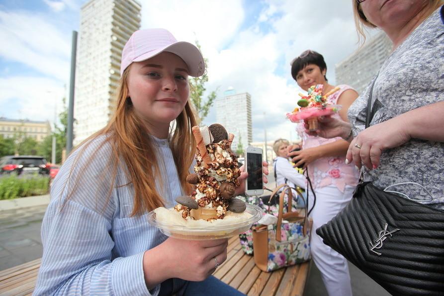 В парке «Сокольники» разыграют более 5 тонн мороженого