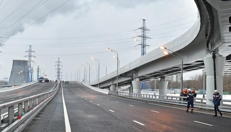 В Москве построят порядка 100 км дорог в этом году