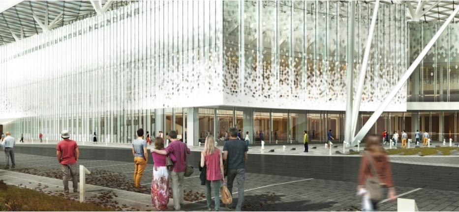 Строительство концертного зала в «Зарядье» завершается