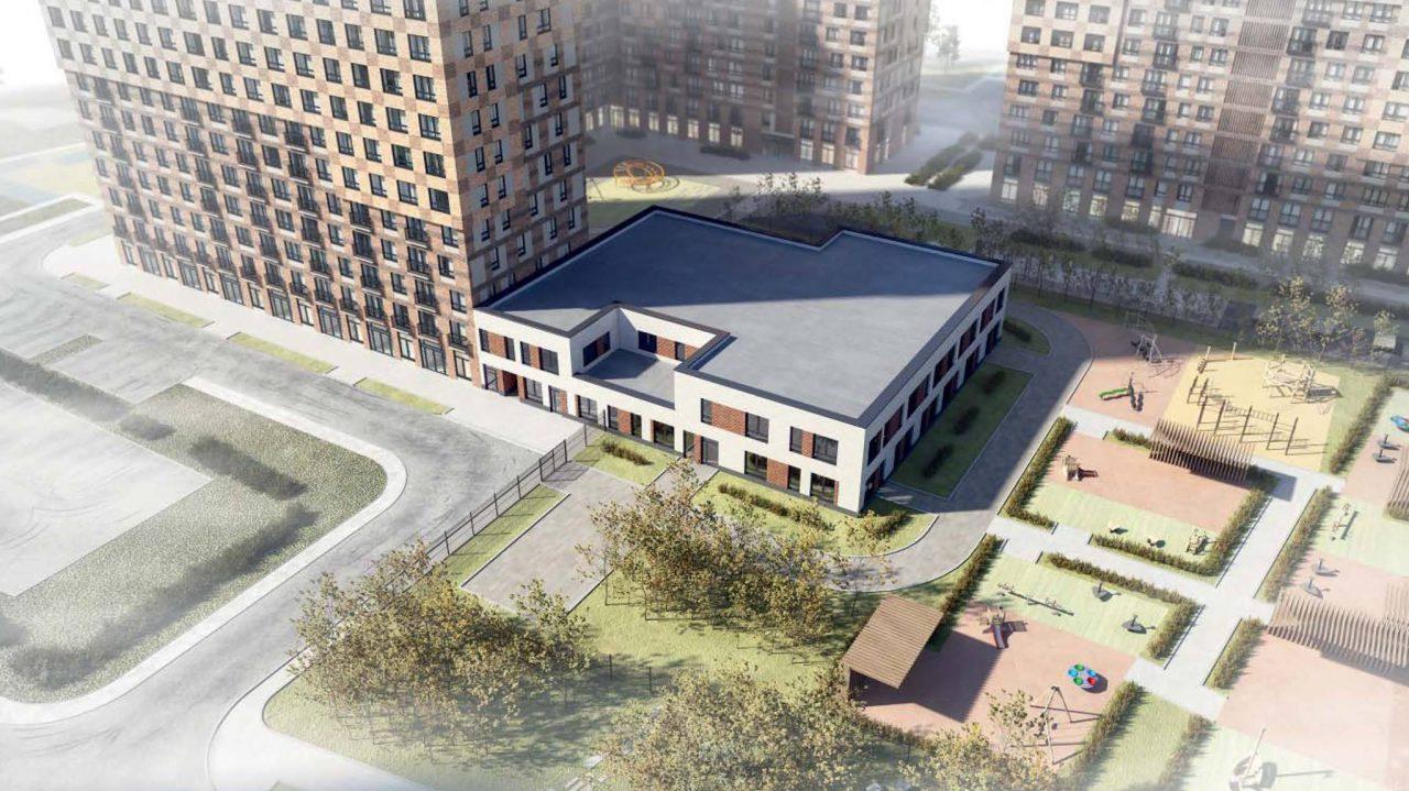 На Варшавском шоссе появится детский сад на 125 мест