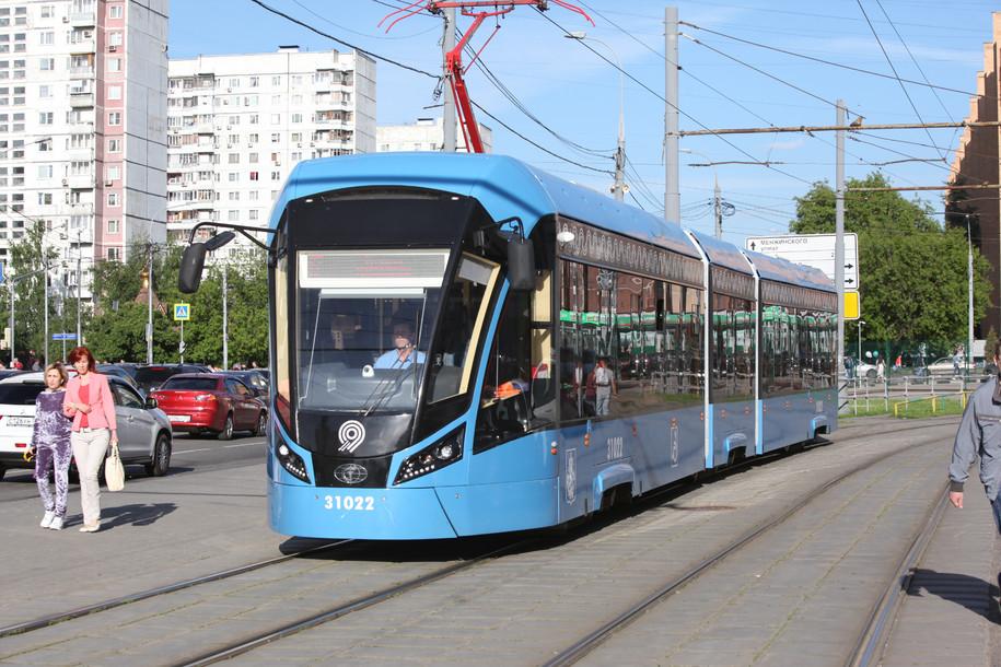 Запуск трамвая «Витязь-М» на маршруте №24 высоко оценили 90% пользователей «Активного гражданина»