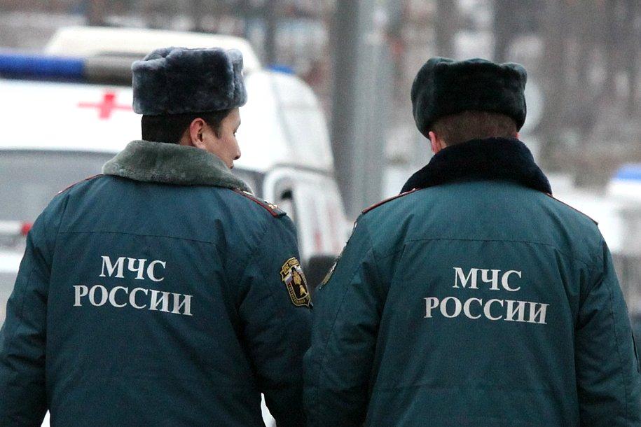 Сергей Собянин навестил в больнице пострадавших при пожаре в ТЦ «Персей для детей» сотрудников МЧС