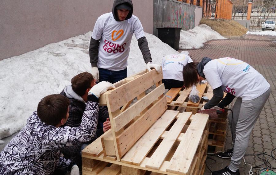 В Москве проходит акция «День добрых дел»