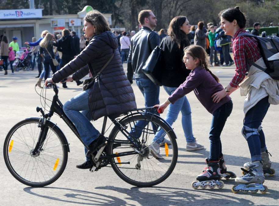 Мэр открыл сезон велопроката в столице