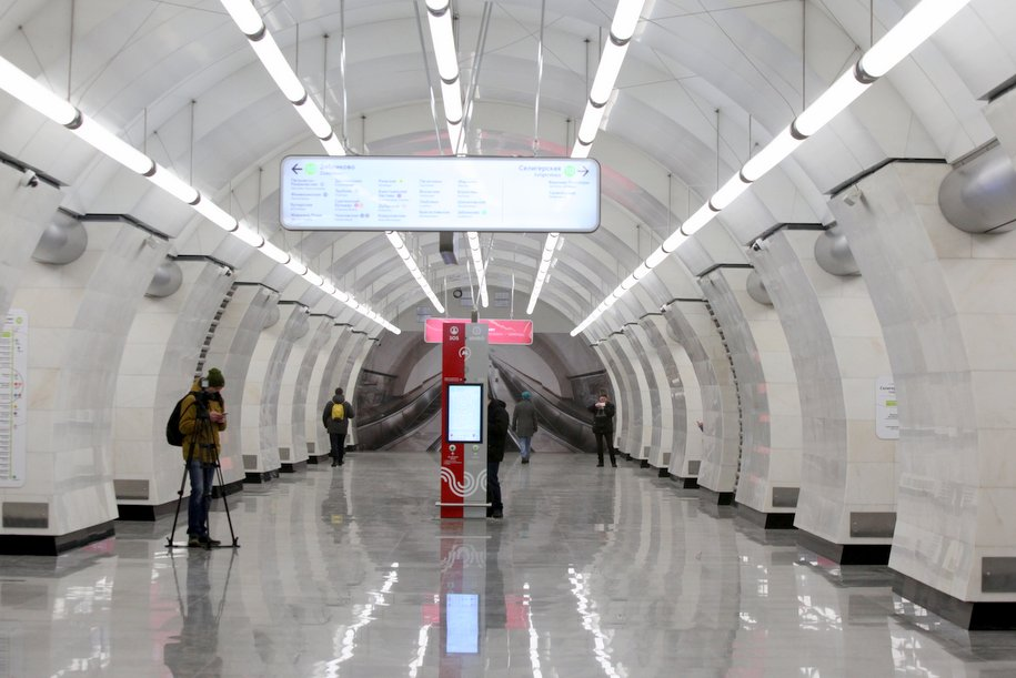 В метро заработала новая система информирования пассажиров