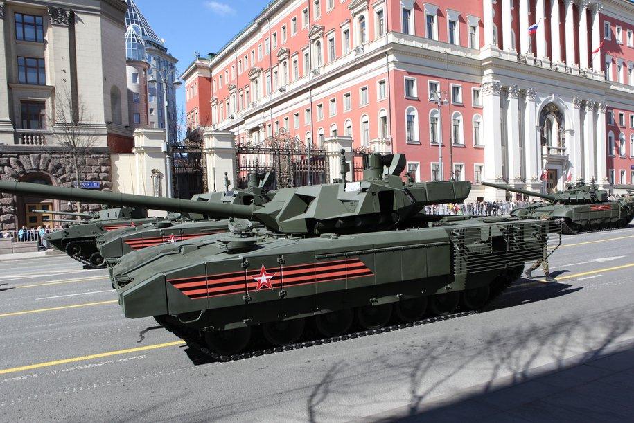 В Москве перекроют несколько улиц в связи с подготовкой к Параду Победы
