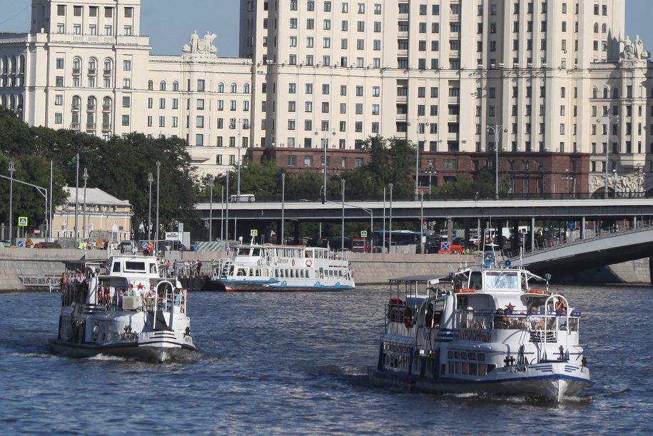 Летняя навигация по Москва-реке начнется 24 апреля