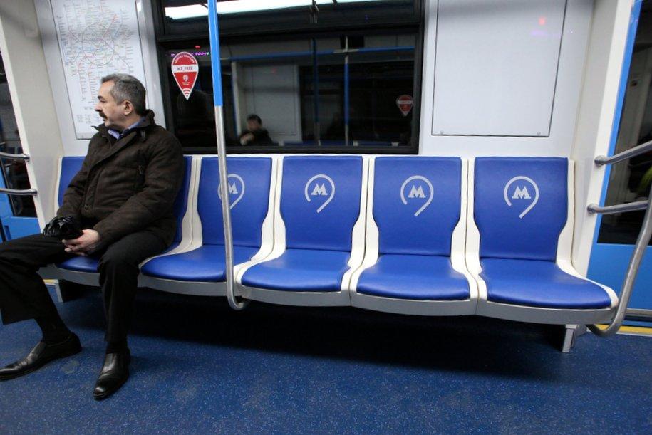 ВМосковском метрополитене курсируют 43 поезда «Москва» нового поколения