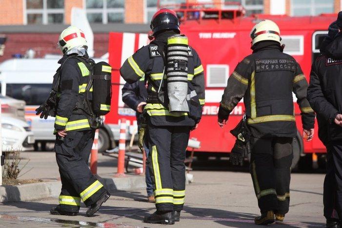 Число спасённых при пожаре на Болотниковской улице увеличилось до 55 человек