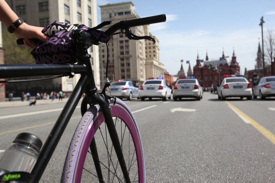 В Москве запустили велопатруль для помощи при ДТП
