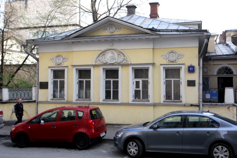История особняка Кузнецова в Мансуровском переулке