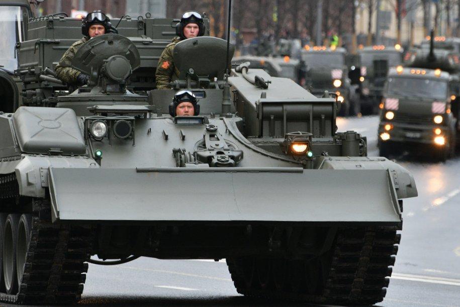 В Москве прошла ночная репетиция парада к 9 мая