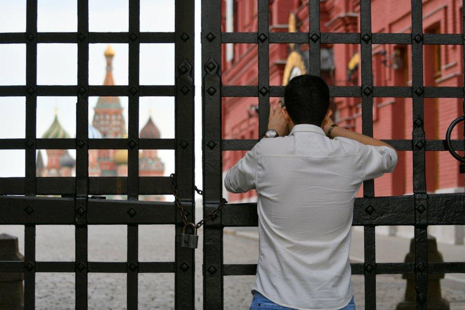 Красную площадь и Кремль закроют для посетителей с 4 по 9 мая