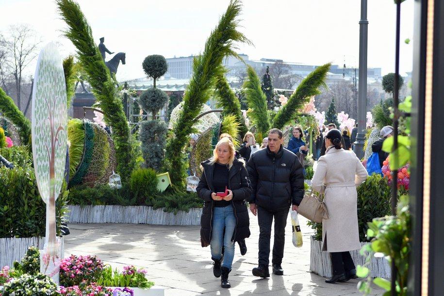 Московские медики провели прием на Манежной площади