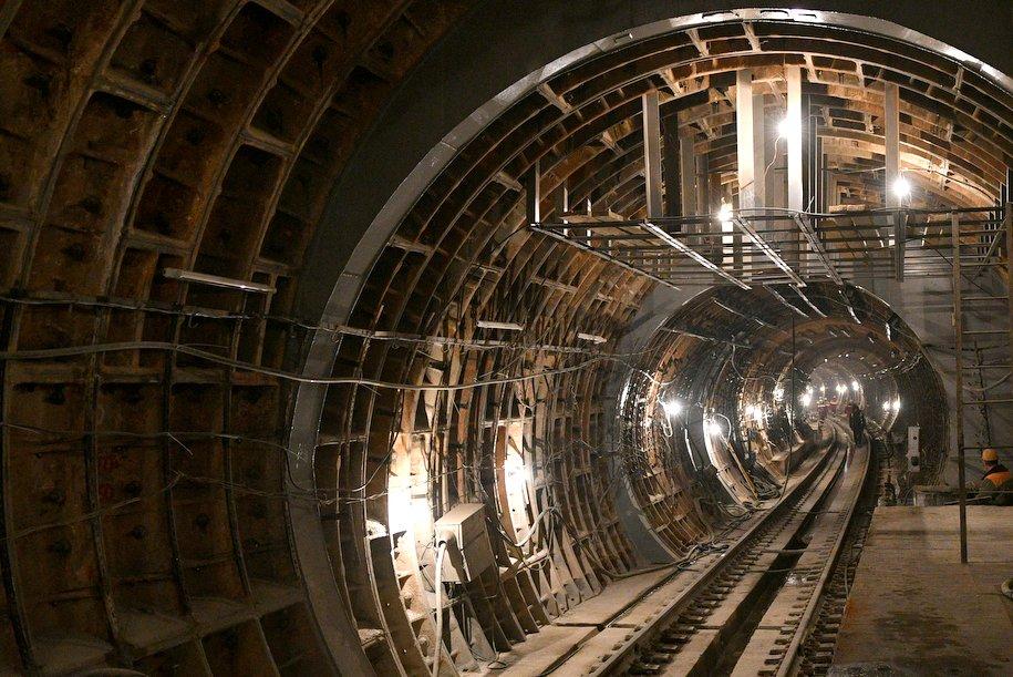 Первый участок Кожуховской линии метро запустят в конце лета