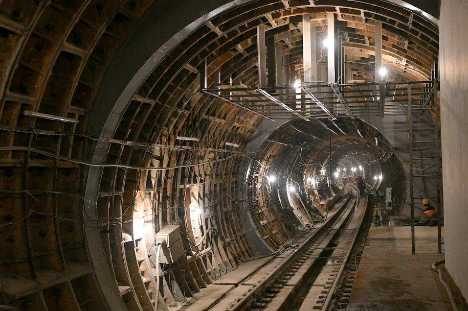 Построен правый перегонный тоннель до станции «Косино» Кожуховской линии