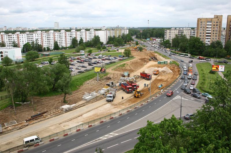 В Москве делают дороги по европейским технологиям