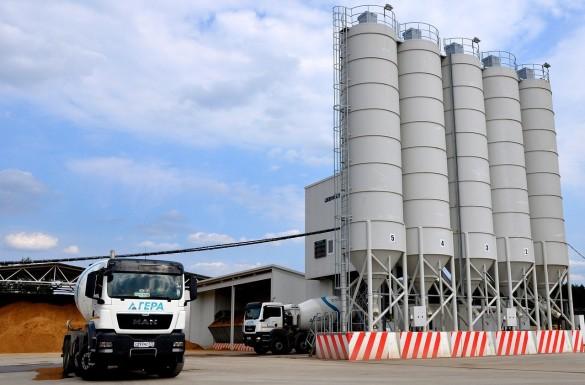 В Солнечногорске открыли бетонный завод