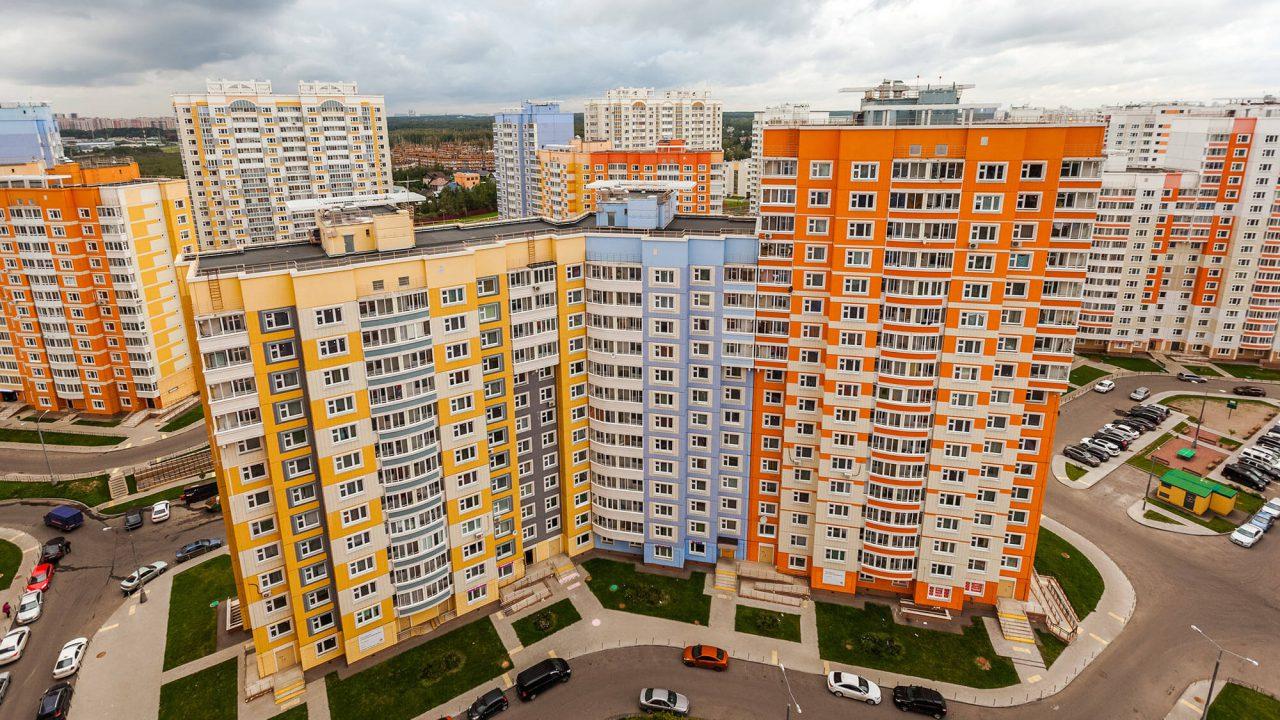 Ввод жилья в Новой Москве вырос почти в два раза за три месяца