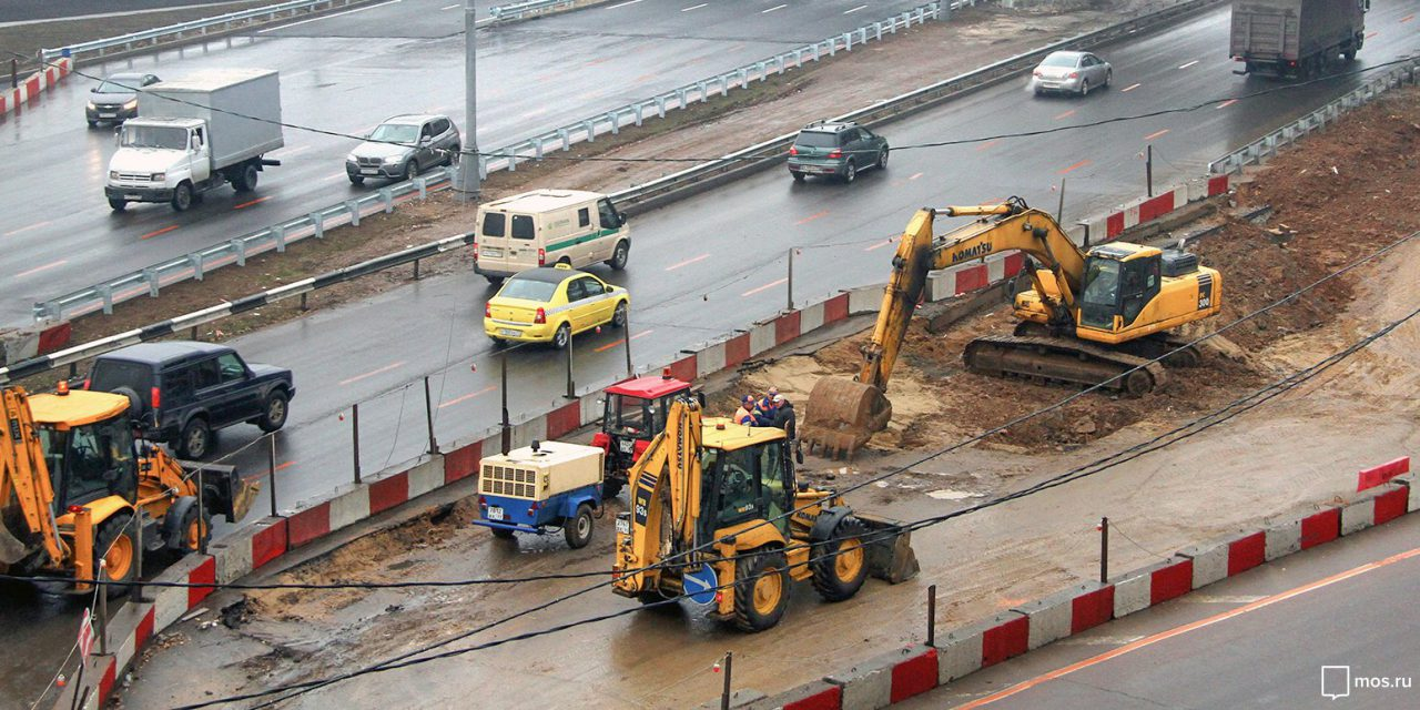 На реконструкции развязки МКАДа Москва сэкономила 200 миллионов рублей