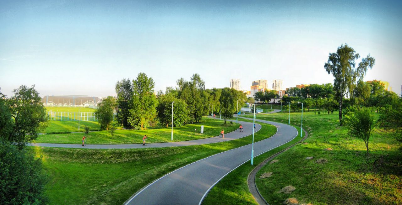 В Зеленограде благоустроили Парк Победы
