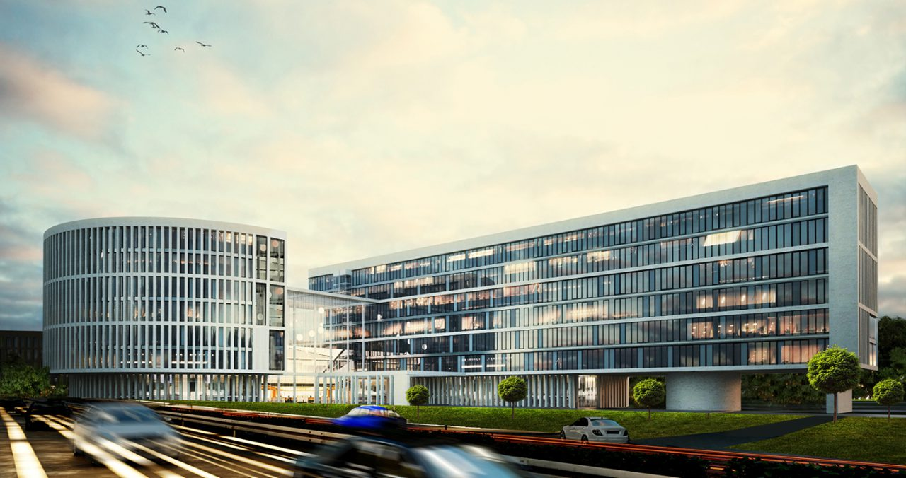 В Коммунарке завершилось строительство здания префектуры ТИНАО