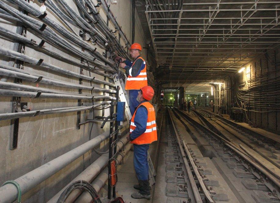 Станция метро «Рассказовка» КСЛ готова к вводу в эксплуатацию