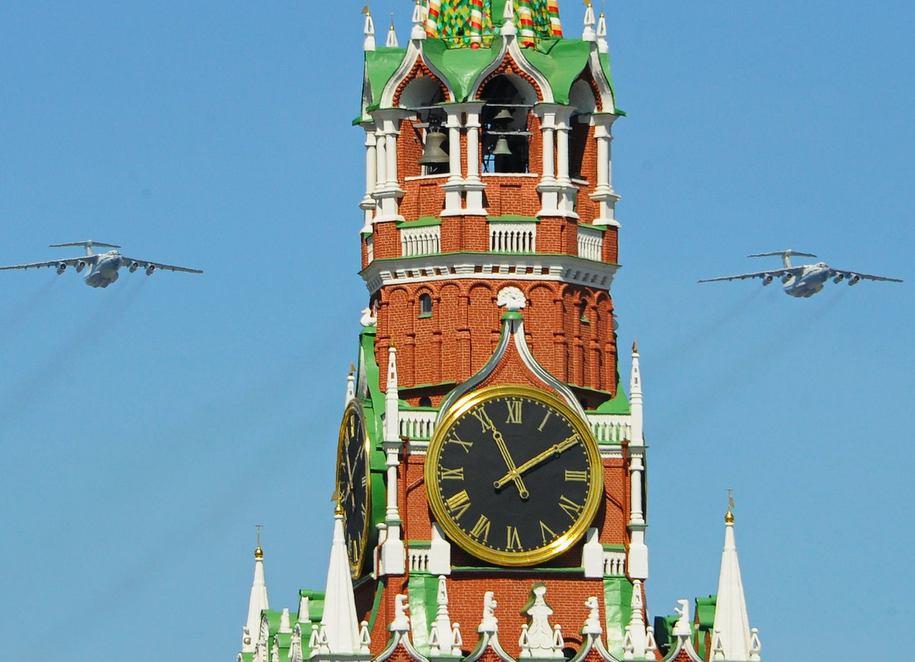 В День Победы в столице ожидается сухая и солнечная погода