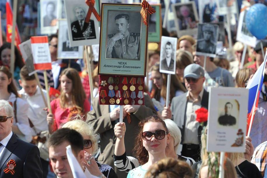Организаторы «Бессмертного полка» ожидают около миллиона человек 9 мая