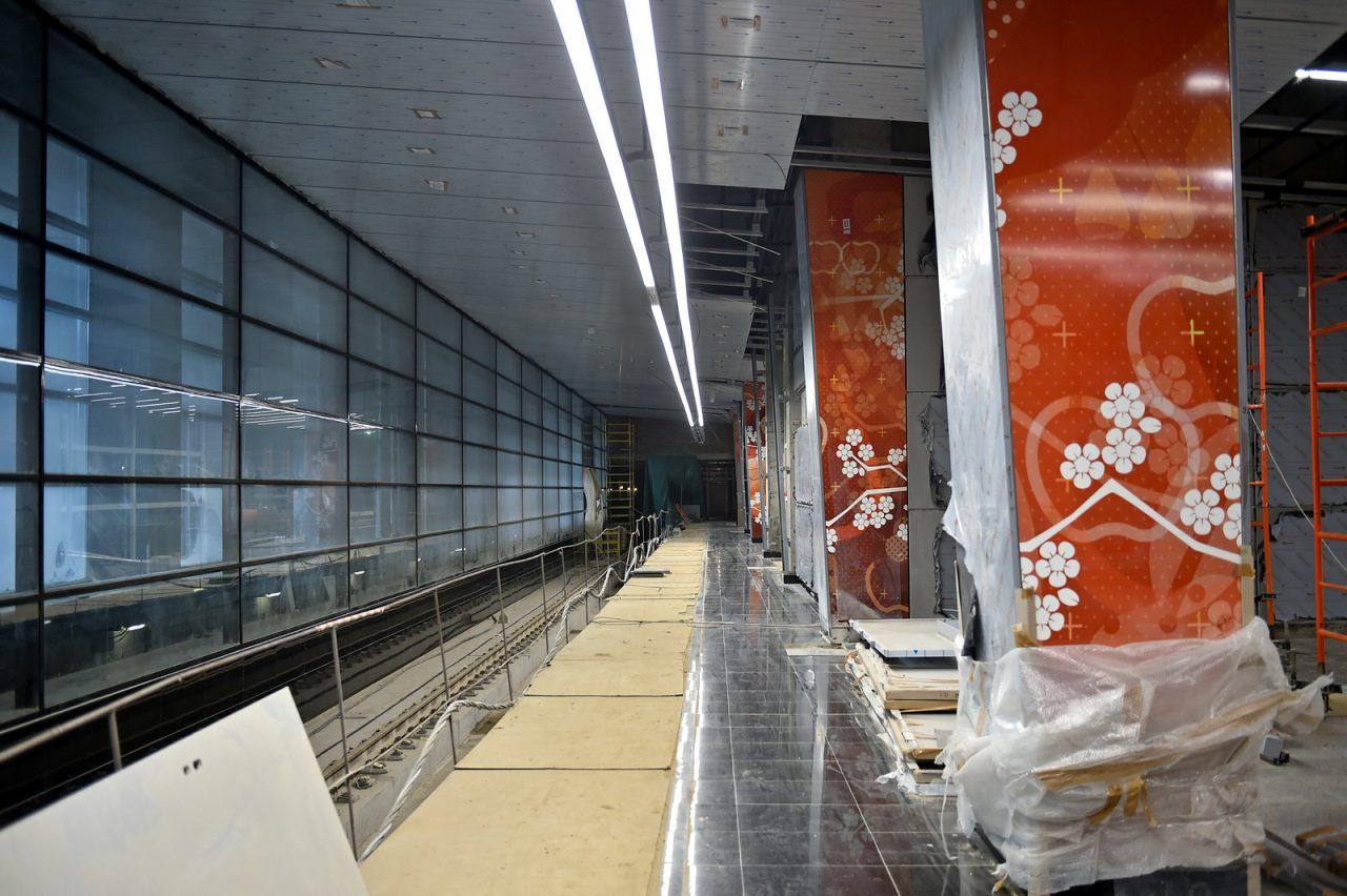 Технический запуск поездов КСЛ от «Раменок» до «Рассказовки» состоится летом