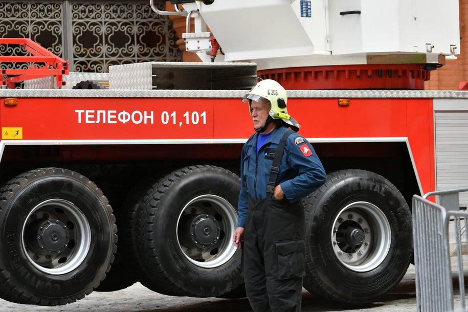 В Савеловском районе столицы ликвидировано возгорание в поликлинике №6